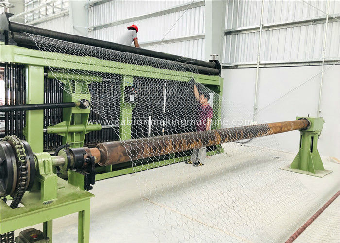 Horizontal Type Gabion Box Machine Three Twist Smooth Running For Chicken Cages